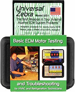 Zebra Instruments, UZ-1 / UZ1 Universal Zebra - Basic ECM Motor Testing and Troubleshooting