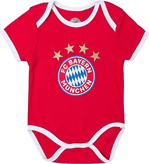 FC Bayern München - Body para bebé, niño, rojo, 86-92: Amazon.es: Deportes y aire libre