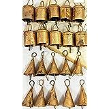 "Handmade Metal Vintage Bells 2"" H (Set of 20 Pieces)"