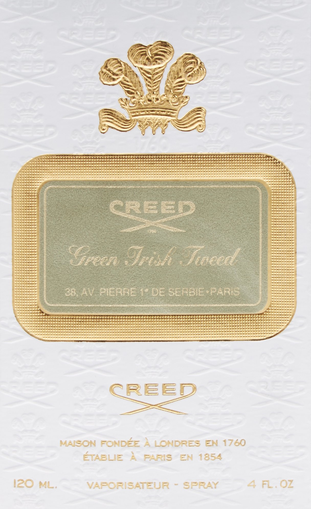 Creed Green Irish Tweed By Creed EDP Spray for Men, 4-Fluid Ounce by Creed (Image #2)