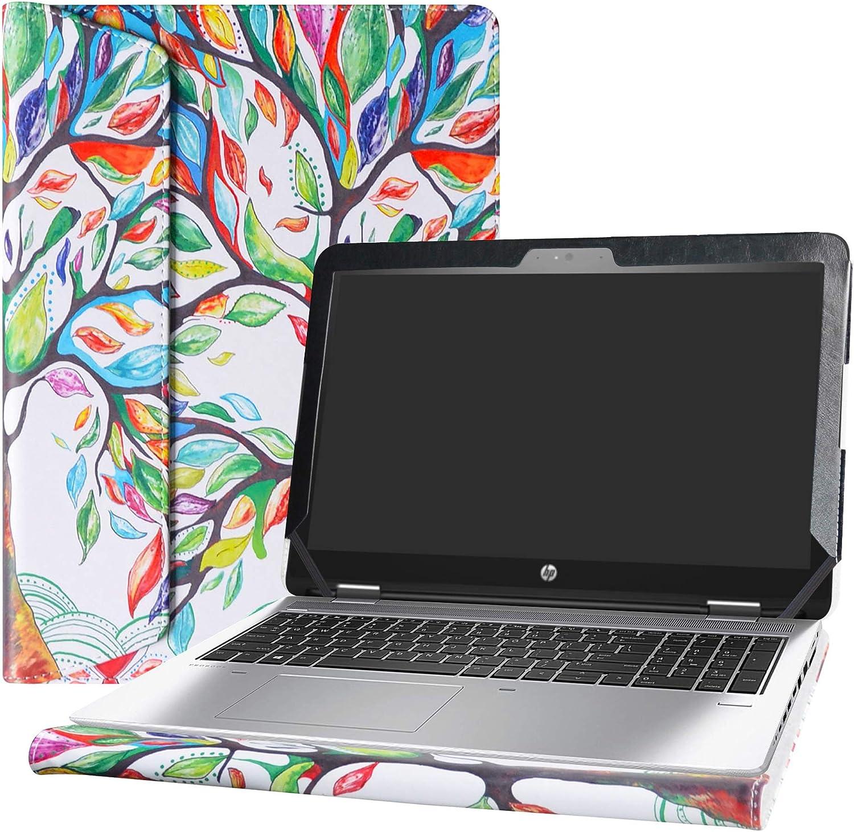 "Alapmk Protective Case Cover for 15.6"" HP ProBook 650 G4 G3 G2 G1/ProBook 655 G3 G2 G1 Series Laptop [Warning:Not fit ProBook 450/ProBook 455],Love Tree"