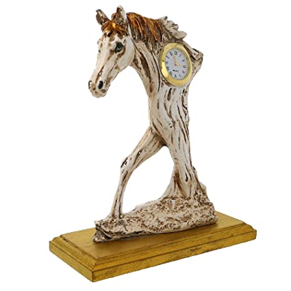 JaipurCrafts Handcrafted Horse Showpiece Garden Statue Outdoor Collectibles  Figurines Showpiece Statue Items For Living Room Drawing