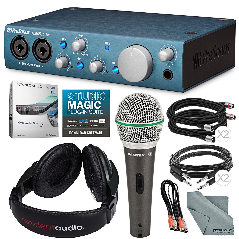 PreSonus AudioBox iTwo - Interfaz de grabación USB 2.0 e ...