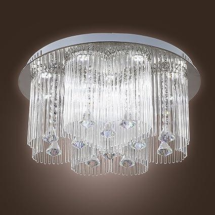 Saint Mossi Modern K9 Crystal Lámpara de araña de luces ...
