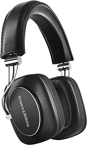 P7 Wireless Over Ear Headphones by Bowers Wilkins, Black