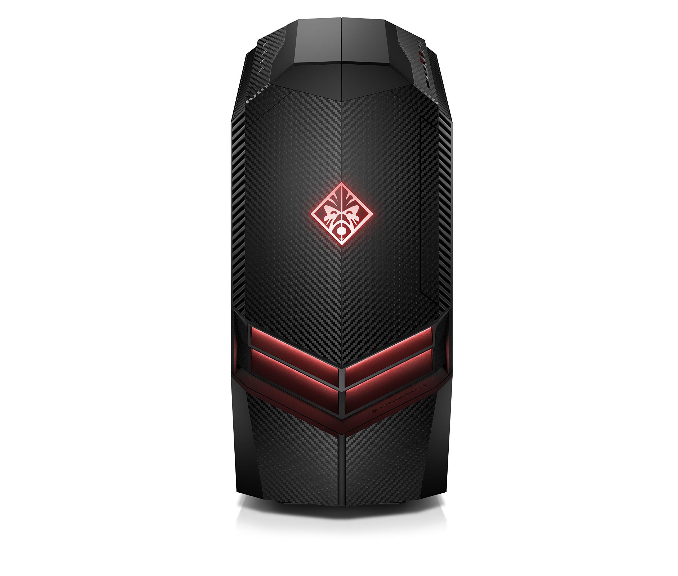 OMEN by HP Gaming Desktop Computer, Intel Core i7-8700K Processor, NVIDIA GeForce RTX 2080 8 GB, 16 GB RAM, 2 TB hard drive, 512 GB SSD, Windows 10 Home (880-180, Black) by HP