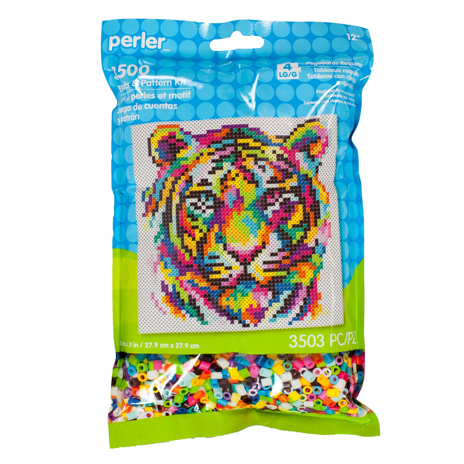 Perler Fuse Beads 3000 Unidades - Rainbow Tiger (xsr)