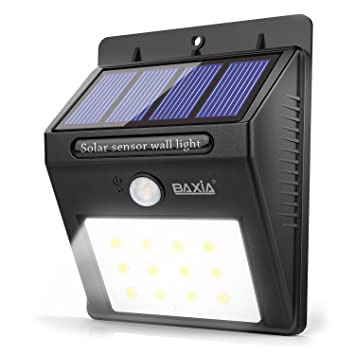 Baxia technology solar motion sensor night lights waterproof baxia technology solar motion sensor night lights waterproof wireless bright led security lights for outdoor aloadofball Images
