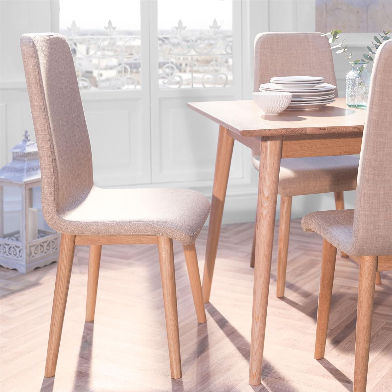 Edvard Olsen Oak Highback Dining Chair (grey faux leather) -GOLDEN OAK Statement Furniture