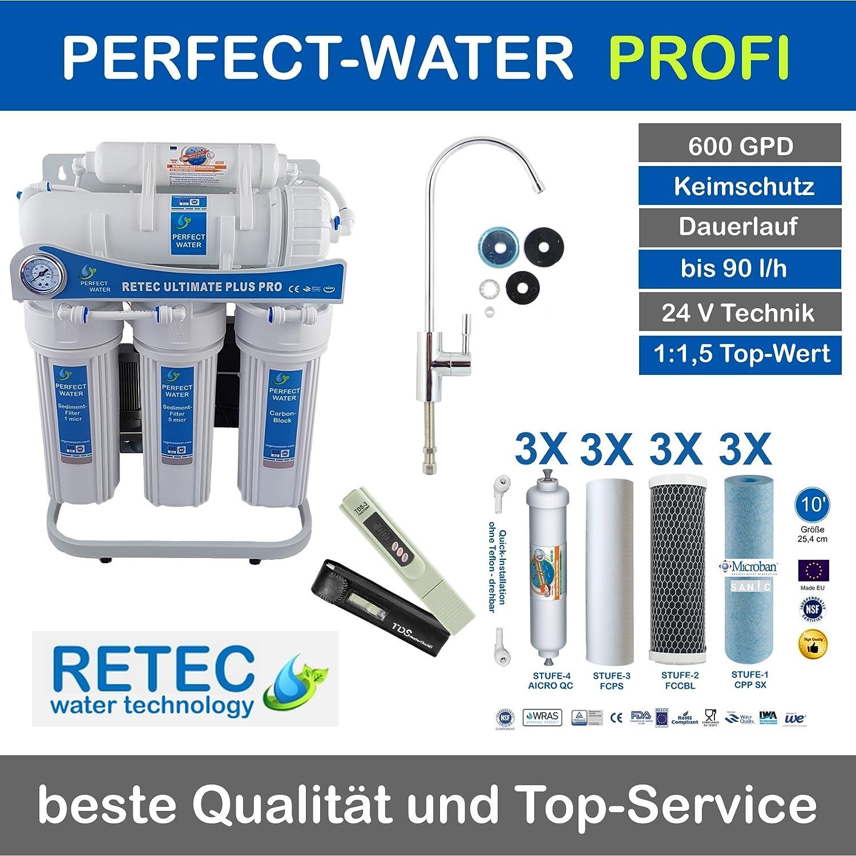 Osmoseanlage 600 GPD Ultimate Wasserfilter Trinkwasser Umkehrosmose, Wassersprudler kaufen,