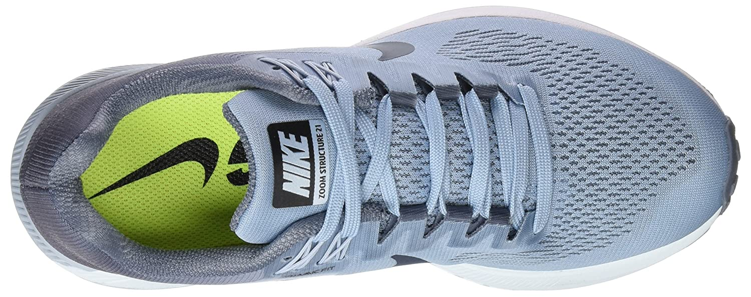 NIKE Women's Air Zoom Structure 21 Running Shoe B075HBHWGM 7.5 M US|Armory Blue/Armory Navy