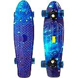 27 Penny Style Skateboard Complete Street Retro Cruiser Print Deck