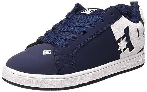 829fc9e8538 DC Shoes Men's Court Graffik Low-Top Sneakers: Amazon.co.uk: Shoes ...