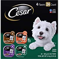 CESAR Gourmet Wet Dog Food Variety Packs – 24 Trays