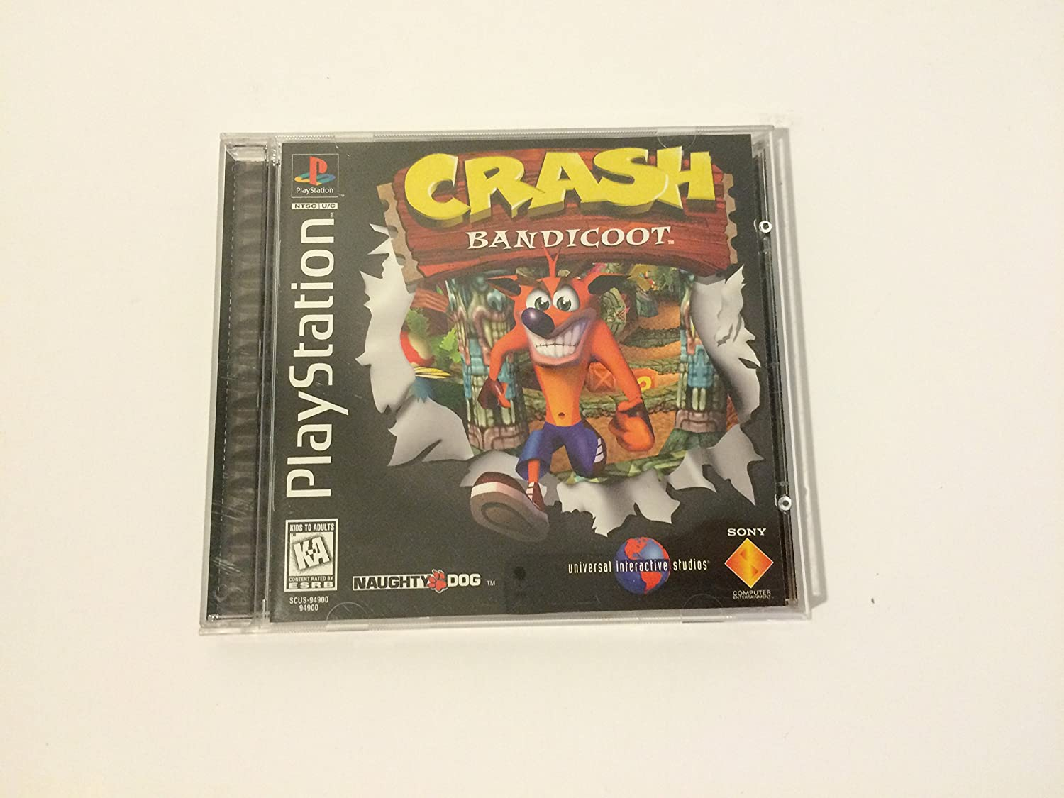 playstation game crash