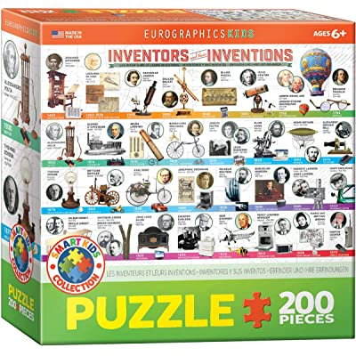 EuroGraphics Great Inventions Jigsaw Puzzle (200-Piece): Toys & Games [5Bkhe1402187]