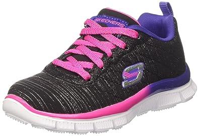 Skechers Mädchen Skech Appeal-Glitter Rush Sneakers, Pink (Npmt), 36 EU
