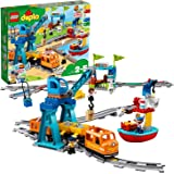 LEGO 10875 Duplo Cargo Train for Toddlers, Toys for 2-5 Year Olds