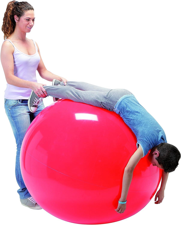 Ledraplastic Gymnic Pelota de Color Rojo, diámetro 120 cm, 4000 g ...
