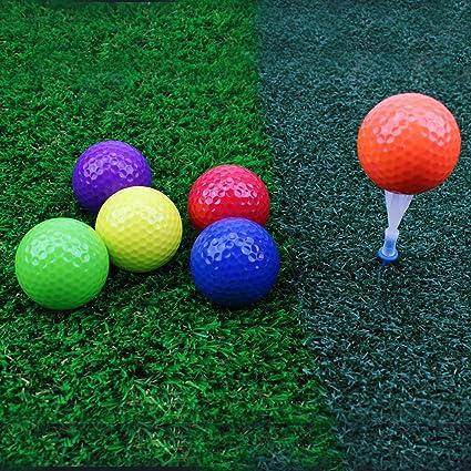 Crestgolf Pelota de Golf Colores Mezclados, Campo de prácticas ...