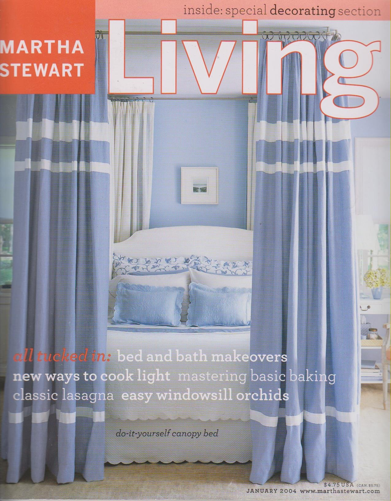 Download Martha Stewart Living Magazine January 2004 - Bed and Bath Makeovers pdf