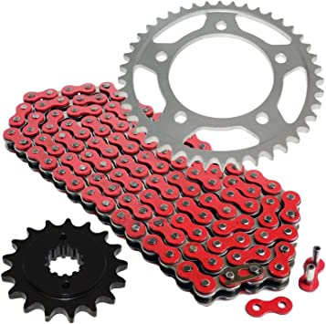 Blue Drive Chain And Sprocket Kit for Honda VT750C Shadow Ace750 1998-2003