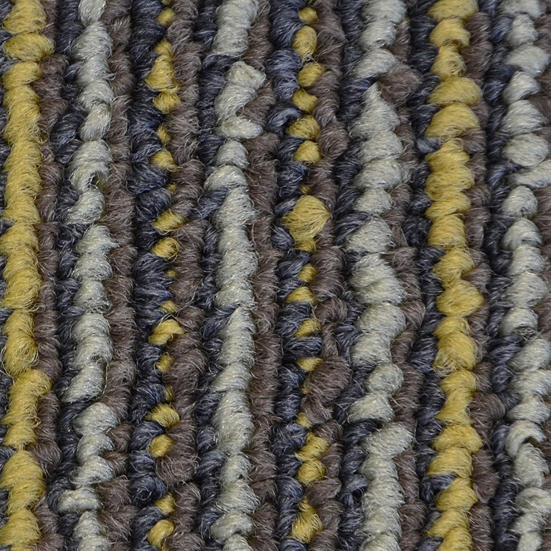 Beige-Gelb, 1 St/ück strapazierf/ähiger Teppich Bodenbelag mit hochwertigem Schlingenflor antistatisch mit Bitumen R/ücken Design Teppichfliesen Astra 50x50 cm selbstliegend