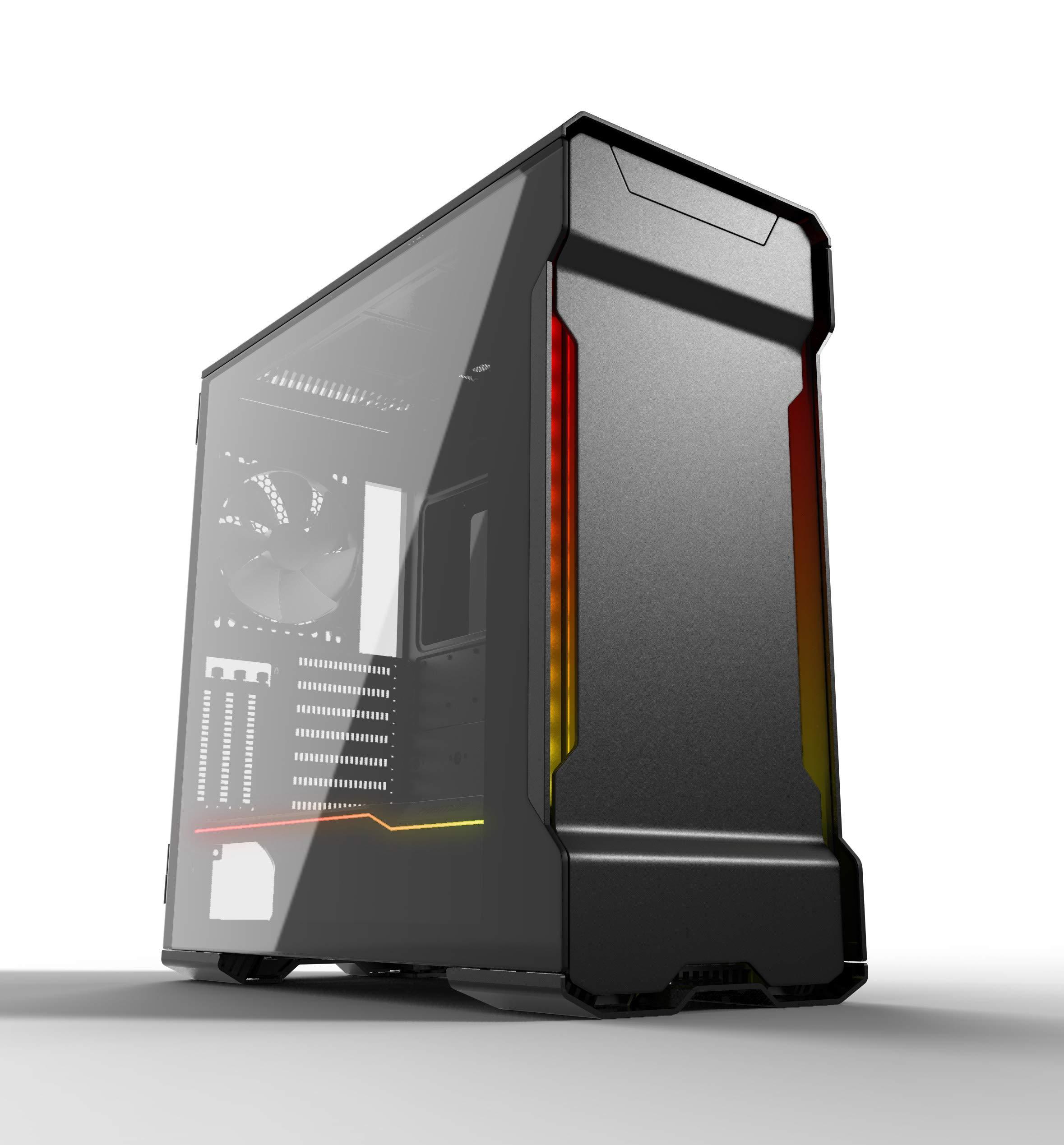 Phanteks PH-ES518XTG_DBK01 Enthoo Evolv X ATX Case Tempered Glass Windows Digital RGB Black