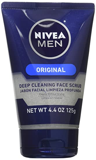 4 Pack - Nivea for Men Energizing Face Scrub 4.4 oz (125 g) Each Coconut Water Visibly Firm Facial Day Cream - 1.7 oz. by Andalou Naturals (pack of 1)