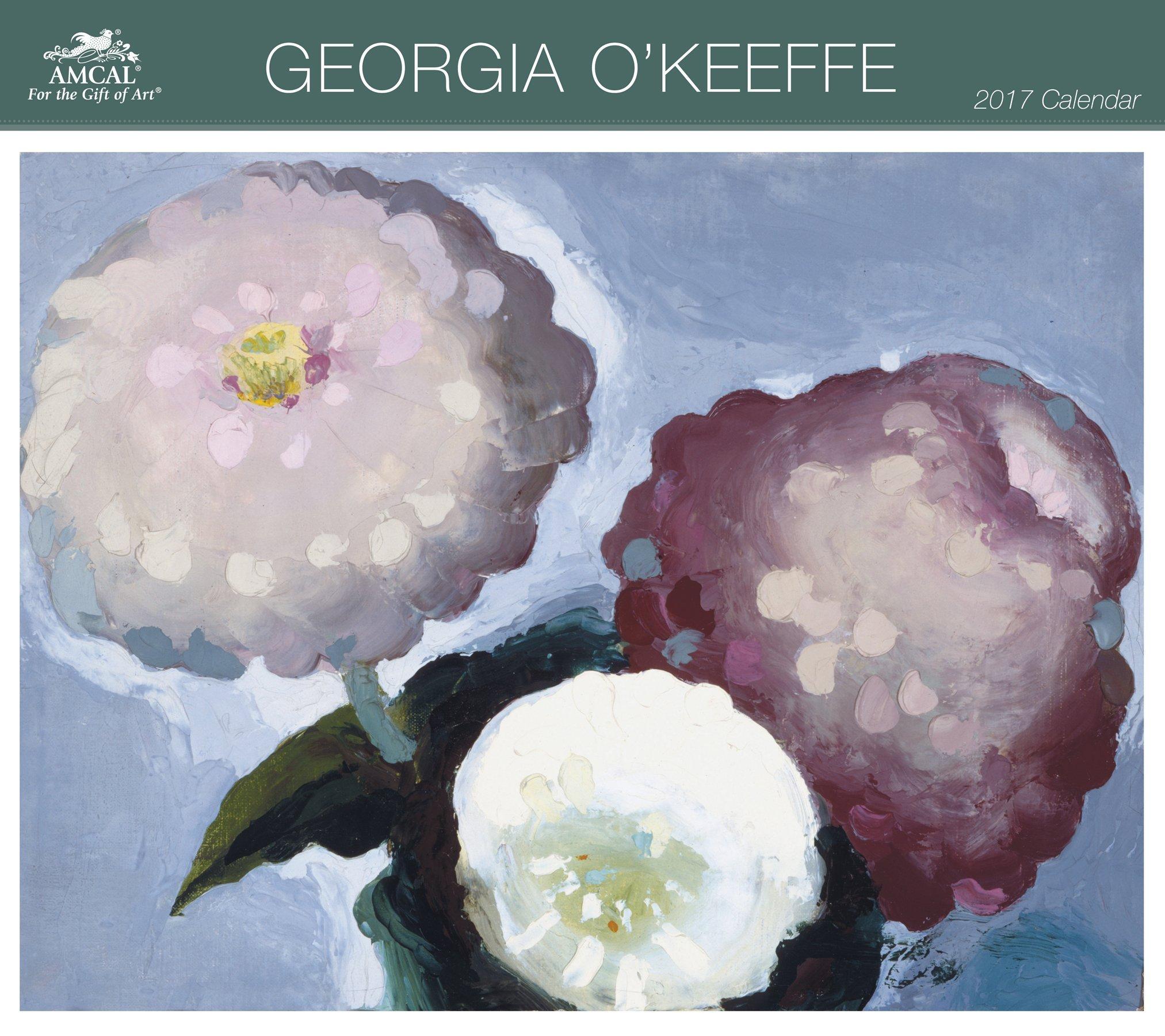 Georgia O'Keeffe Wall Calendar (2017): AMCAL: 0038576290372: Amazon.com:  Books