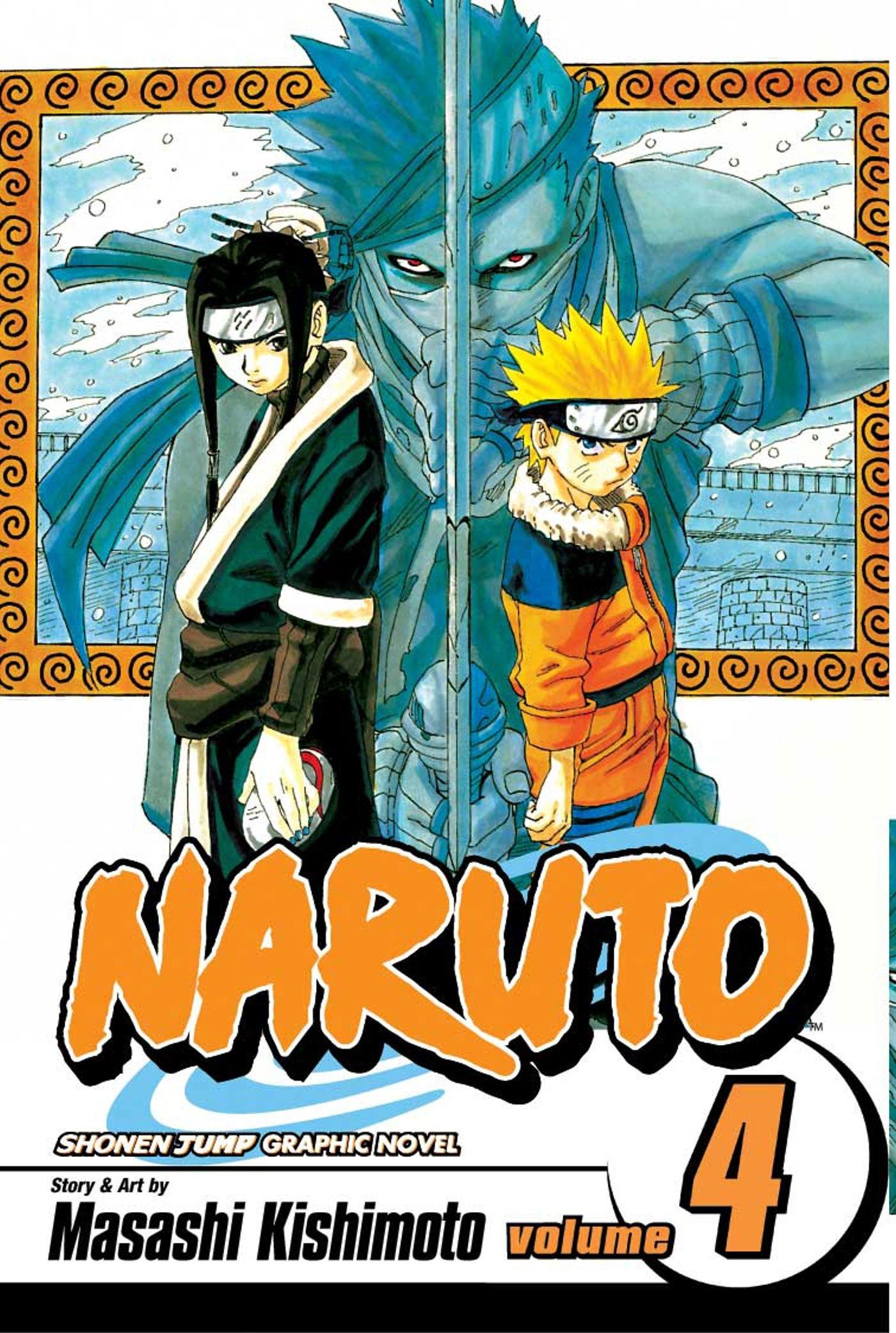 Amazon Naruto Vol 4 Heros Bridge 0782009183730 Masashi Kishimoto Books