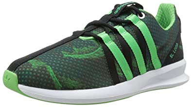 adidas Originals Women's SL Loop Racer W Lifestyle Sneaker, Core Black/Surf  Petrol/