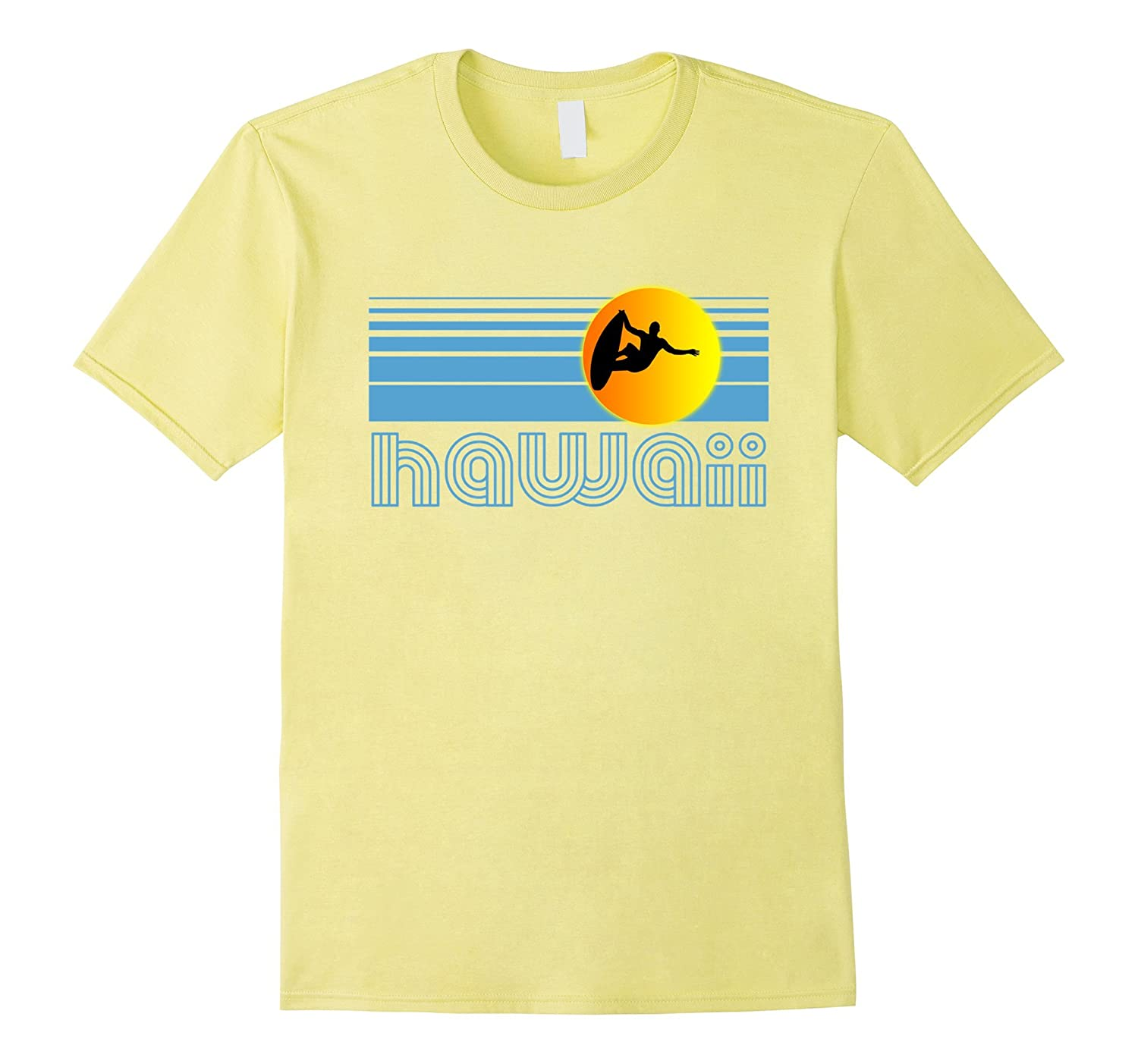 bf172c391 The product is already in the wishlist! Browse Wishlist. HAWAII Surfing T  Shirt Surfing Apparel Retro Hawaii Surf T-CL