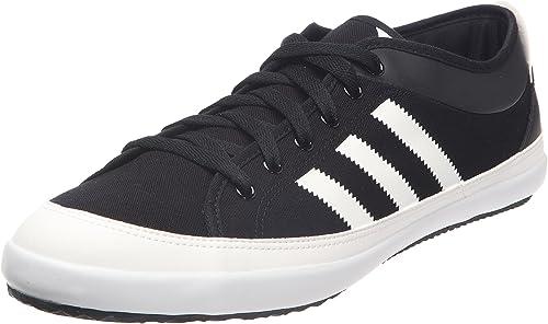 Sumergido combate animación  adidas Originals Men's Nizza Lo Remo Trainers Black Size: 6 UK:  Amazon.co.uk: Shoes & Bags