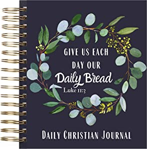 Mr. Pen- Christian Planner, 365 Pages, Daily Bible Journal, Prayer Journal, Bible Study Journal, Devotional Journal, Religious Gifts, Write the Word Journal, Prayer Journal for Women, Christian Gift