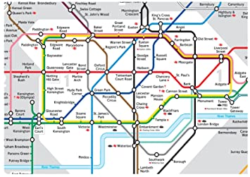 A4 icing sheet cake toppers wallpaper background London Tube
