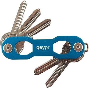 qeypr - Estuche de llaves Azul azul: Amazon.es: Equipaje