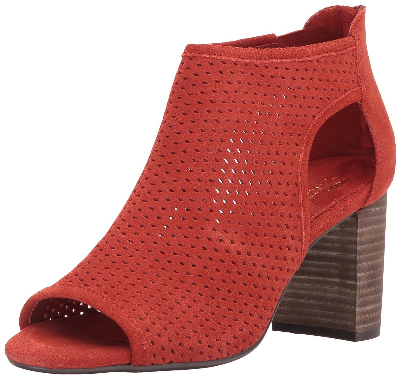 Aerosoles Women's High Frequency Ankle Bootie B072NY1RVJ 7 B(M) US|Orange Suede