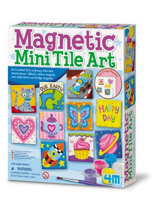 Great Gizmos - Kit de création de mosaïques magnétiques - Magnetic Tile Art 4341