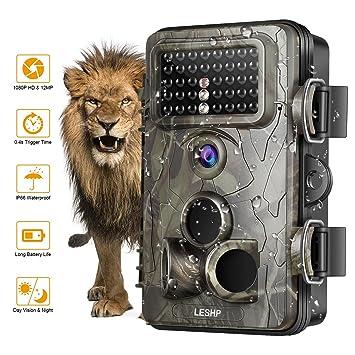 Cámara para fotografía salvaje de OCDAY, de 12 MP, 1080