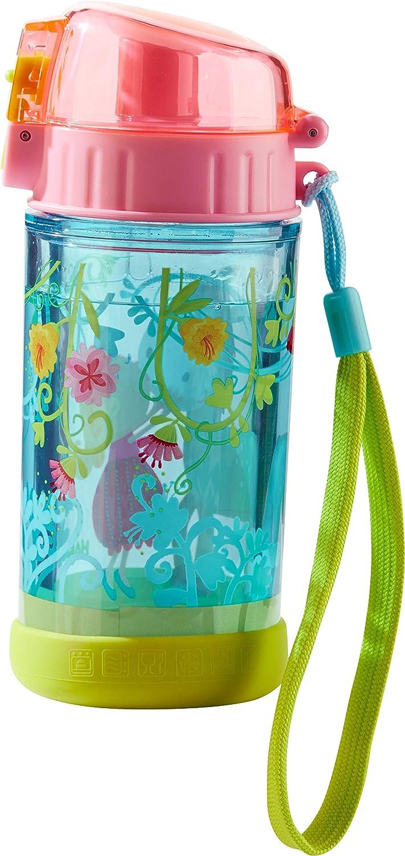 HABA 302844 Vicki & Pirli - Botella de agua para niños para amantes de los caballos, para guardería o escuela, 250 ml, plástico sin BPA, apta para lavavajillas, antigoteo
