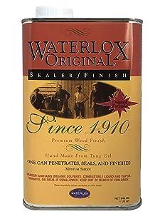 Title: Waterlox Original Sealer/Finish for Wood, Brick, Stone, Tile & More - 1 Quart (TB 5284)