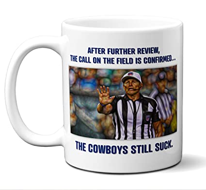 f26dbfe01 Image Unavailable. Image not available for. Color: Funny Dallas Cowboys  Suck Mug.