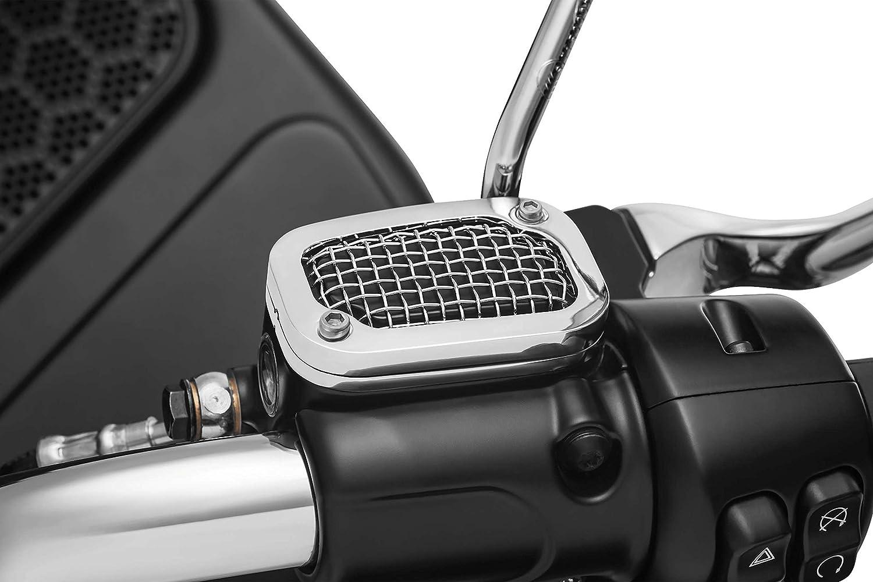 Kuryakyn 6530 Mesh Brake Master Cylinder Cover for '08-'17 Touring