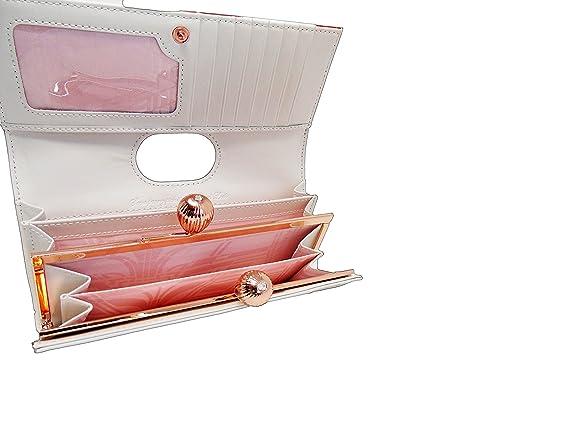 Ted Baker - Monedero, diseño de amapola, color rojo: Amazon ...