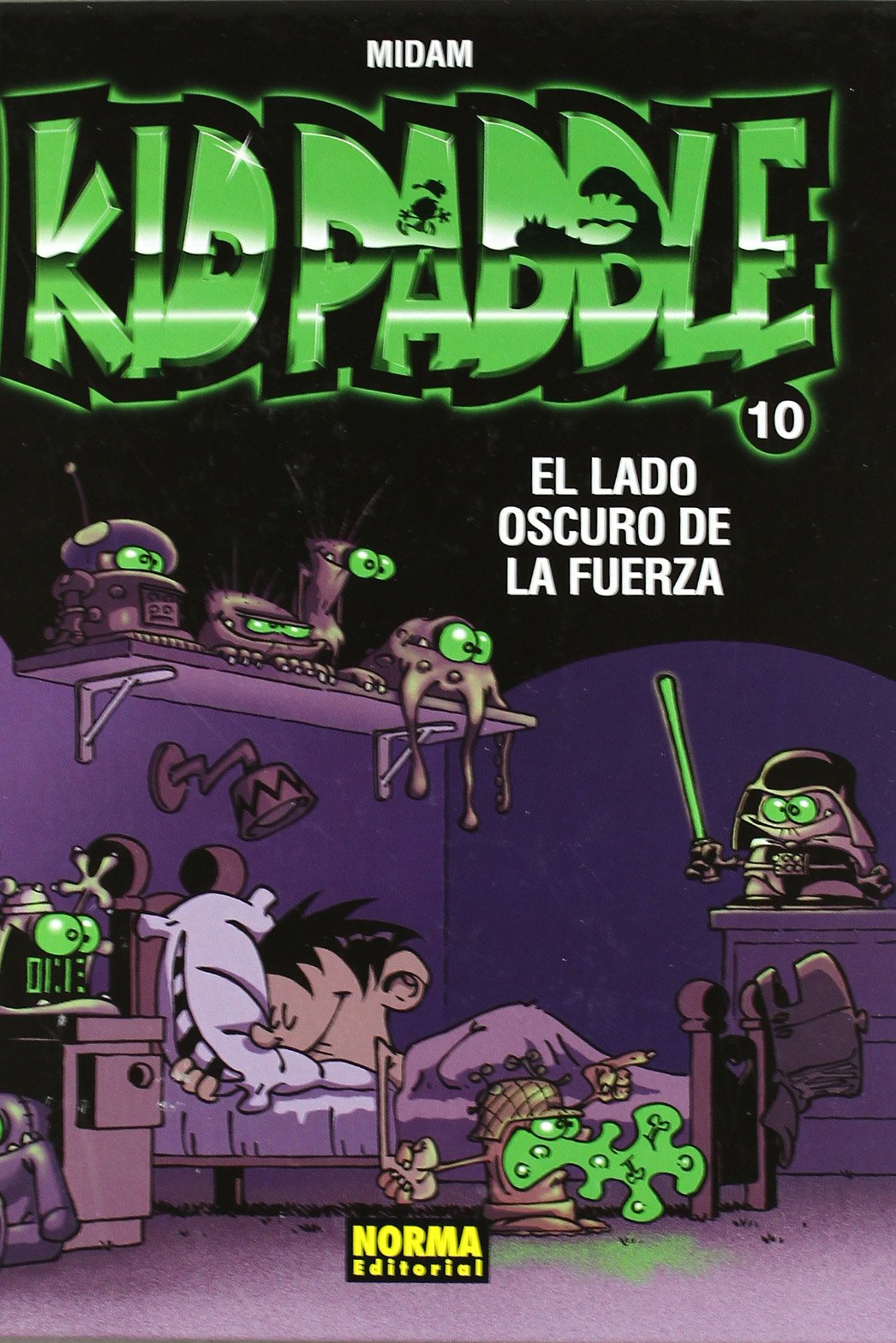 Download Kid Paddle 10 El lado oscuro de la fuerza / The Dark Side of Force (Spanish Edition) ebook
