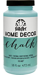 folkart home decor chalk furniture craft paint in assorted colors 16 oz - Home Decor Chalk Paint