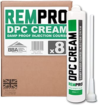 Pack of 100, Terracotta Rempro 12mm Universal DPC Cream Injection Wall Plugs