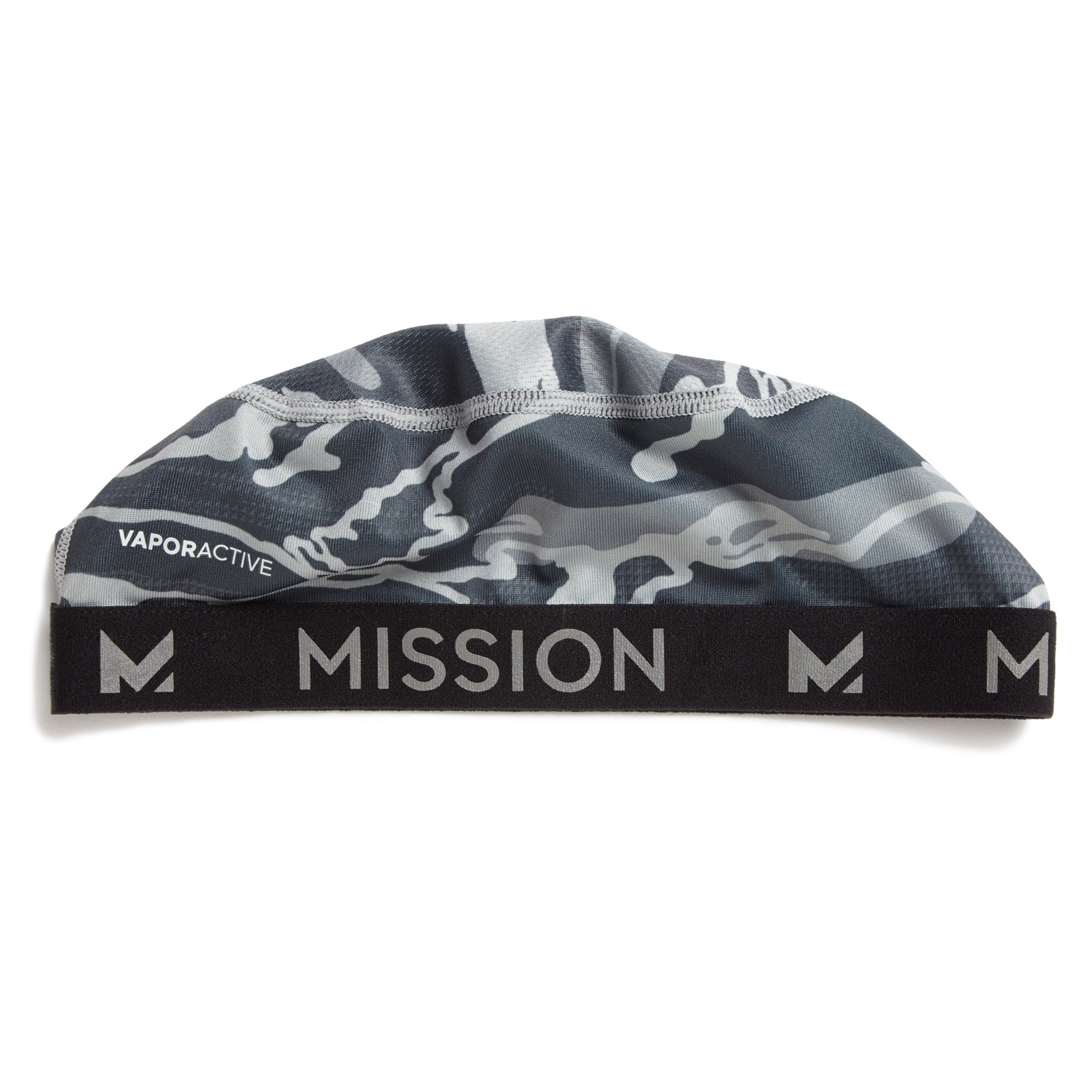 Mission VaporActive Cooling Skull Cap, Matrix Camo Silver, One Size