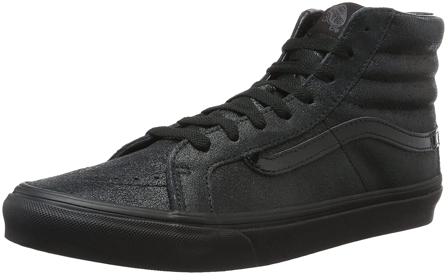 Vans Sk8-Hi Slim - Zapatillas Unisex Adulto 40 EU|Negro (Patent Crackle)